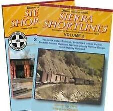 Sierra Shortlines 2 DVD Set Vols 1 & 2 Sierra Yosemite