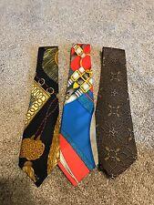 Vintage Hermes Paris Silk Ties