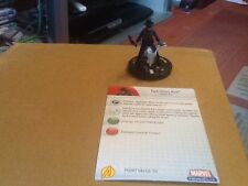 MARVEL Heroclix AVENGERS SUPER RARA CON CARD #49 due GUN KID
