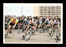 Feld auf Rundkurs Radfahren Bergmann Sammelbild Sportbild 1968 Nr. A 310