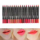 Waterproof Soft Kiss Proof lipstick Long Lasting Makeup lip gloss 19 colors