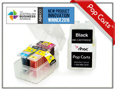 Rihac Pop Carts Ink Cartridge inserts PG510 CL511 for Canon MP490 MP250 MP270