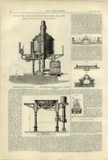 1887 Vacuum Sugar Plant Smith Glasgow Bentley Knight Electric Railway System