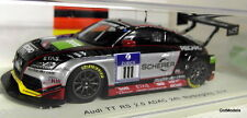 SPARK 1/43 SCALA sg139 AUDI TT RS 2.0 ADAC 24h Nurburgring 2014 In Resina Modello Auto