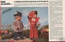▬► Page Poupée Marie-Françoise Jean-Michel Modes et Travaux  05/1975