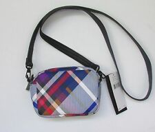 fcuk French Connection Plaid Contempo Mini Bag Coss Body NWT MSRP $58