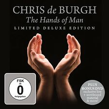 CHRIS DE BURGH - THE HANDS OF MAN (LIMITED DELUXE EDITION) CD + DVD NEW+
