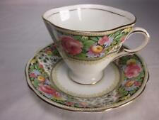 Vintage Clarence Bone China Cup and Saucer Made in England
