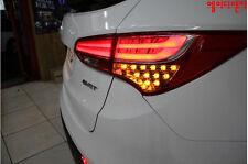 Tail Lights Lamp LED Turn Signal Diy Kit For 13~2015+ Hyundai Santa fe DM Sport