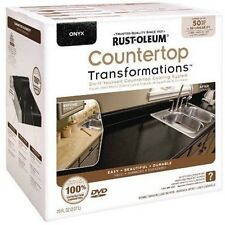 Rust-Oleum 258284 ONYX Countertop Transformations LARGE Kit 50 Sq. Ft.