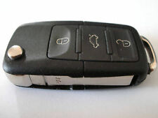 VW VOLKSWAGEN BEETLE PASSAT 3 BUTTON REMOTE FLIP KEY FOB