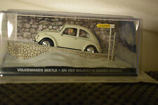 JAMES BOND CARS COLLECTION IN BLISTER VOLKSWAGEN BEETLE ON HER MAJESTY'S SERVICE