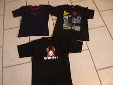 "LOT DE 3TEE SHIRT "" EDEN  PARK / VILLABONG "" TAILLE 10 /12 ANS / ARTICLE KOM 9.."
