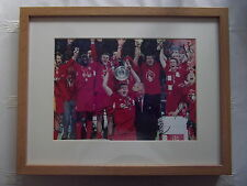 LIVERPOOL F.C. 2005 CHAMPIONS LEAGUE FINAL VICTORY SIGNED PHOTO