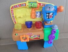 Fisher Price Musical Learning 123 ABC Workbench boys toys toddlers kids FREESHIP
