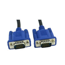 VGA Male to VGA Male Cable For Laptop PC to LCD, TV
