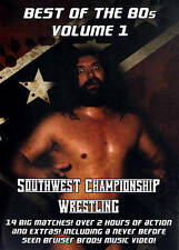 Southwest Championship Wrestling Vol 1 Best Of 80's Preview Below Gift Not WWE