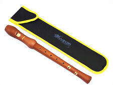 Woodnote Baroque 8 Holes Soprano Recorder(Maple Wood/Brown Finishing ) + Bag