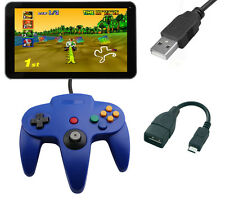 Nintendo N64 Style Micro USB PC Controller Joystick Joy pad For Android Tablet