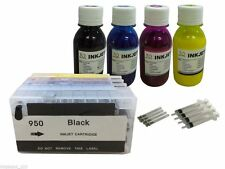 4 Pigment ink refillable Cartridge for HP 950 951 XL Pro 251dw  276dw  +4x100ml
