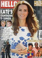 HELLO! Magazine * 9/5/2016 * No. 1446 * Kate Visits Canada * Royal Tour * & MORE