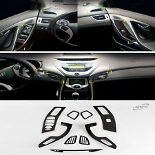Carbon Interior Garnish Molding Trim Set for HYUNDAI 2011-2016 Elantra / MD