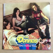 """The Donnas - Who Invited You  7"""" Vinyl"""