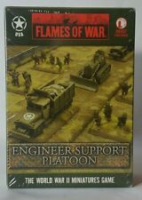 Flames of War U.S. Engineer Support Platoon UBX37 NIB SEALED FREE SHIPPING