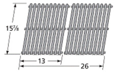 Porcelain Steel Cooking Grid for Gas Grill BBQ Grillware, BBQ Tek MCM52612