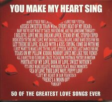 YOU MAKE MY HEART SING -  50 OF THE GREATEST LOVE SONGS EVER 2 CD ELVIS AND MORE