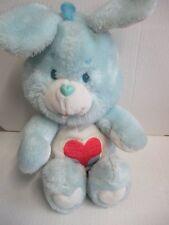 Care Bears osos amorosos bärchi friend conejo azul 30 cm Kenner 1984