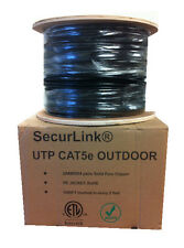 1000FT Roll Outdoor CAT 5E CAT5E Water Proof Ethernet Network 1000 Feet Cable