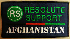 """Toppa/Patch Commemorativa Missione """"RS RESOLUTE SUPPORT - NATO / AFGHANISTAN"""""""