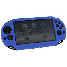 ZedLabz SC-1 silicone skin protector cover case Sony PS Vita 2000 Slim blue