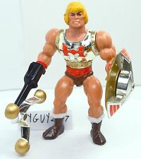 MOTU, Flying Fists He-Man, Masters of the Universe, figure, near complete, mace