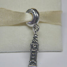 New Authentic Pandora Charm 791080 Big Ben London Dangle Box Included