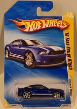 Hot Wheels 2010 New Models '10 Ford Shelby GT500 Mustang Blue PR5