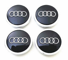 New Black Wheel Center Cap 4B0601170A (69mm) FOR AUDI A3 A4 A6 A8 S4 S6 RS4 RS6