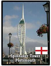 SPINNAKER TOWER, PORTSMOUTH, ENGLAND - SOUVENIR JUMBO FRIDGE MAGNET - BRAND NEW