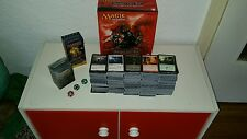 Magic the Gathering Sammlung 2200 Karten  6 Decks + Zubehör + Planeswalker