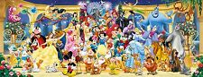 NEW Ravensburger Disney Group Photo 1000 piece panoramic jigsaw puzzle
