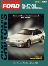 Ford Mustang, 1989-93 (Chilton Total Car Care Series Manuals)-ExLibrary