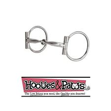 Weaver Stainless Steel Dee Rings Horse 5 inch Bit Sweet Iron Snaffle Mouth Tack