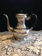 "Vintage Unique ""My Lady"" Hand Hammered Tea Pot Pewter Made in ENGLAND"