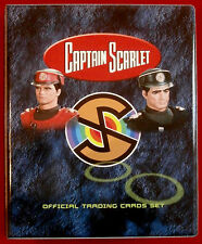 Official trading card storage binder-capitaine scarlet par imparable cartes