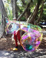 BUBBLE MAKER WAND,HUMUNGUS, BUBBLE STICK-BLOW HUGE GIANT SOAP BUBBLES