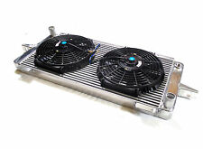 UNIVERSAL HIGH FLOW RADIATOR & SUPER COOLING FANS KIT /PROJECT /TRACK /RALLY CAR