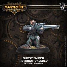 Warmachine: Retribution of Scyrah Ghost Sniper Solo (PIP35021) NEW