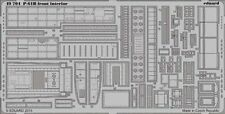 Eduard 1/48 p-61b' Black Widow Frente Interior Para Great Wall Hobby # 49704