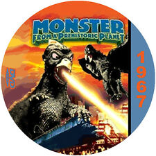 """Monster from a Prehistoric Planet (1967) Classic SciFi and Horror """"B"""" Movie DVD"""